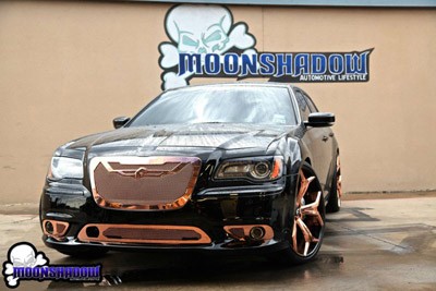Chrysler 300 SRT на дисках Forgiato 24
