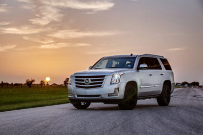 Cadillac Escalade HPE550 Supercharged от Hennessey Performance
